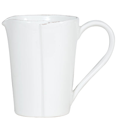 Vietri Lastra White Pitcher Cup