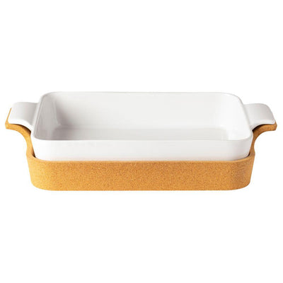 Casafina Ensemble White Rectangular Baker