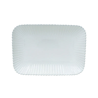 Costa Nova Pearl White Large Rectangular Platter