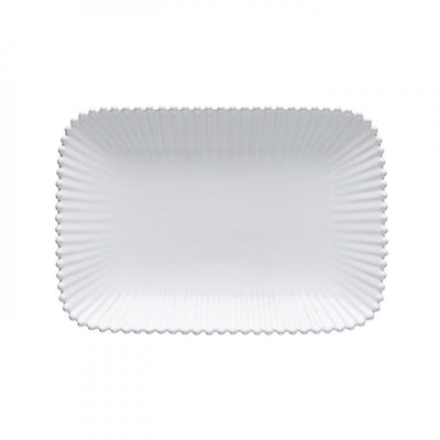 Costa Nova Pearl White Medium Rectangular Platter