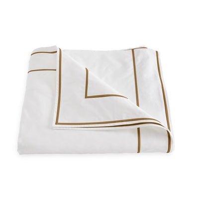 Matouk Ansonia Bronze Duvet Cover