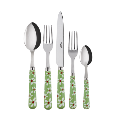 Sabre Paris Marguerite Garden Green Place Setting