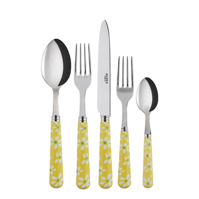 Sabre Paris Marguerite Yellow Place Setting