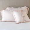 Bella Notte Linens Delphine Pearl Pillow Shams