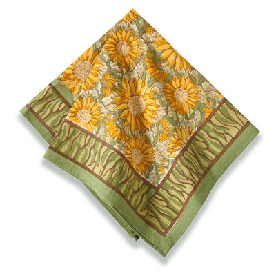 Couleur Nature Sunflower Yellow Green Napkin