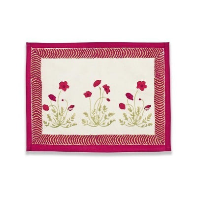 Couleur Nature Poppies Placemat
