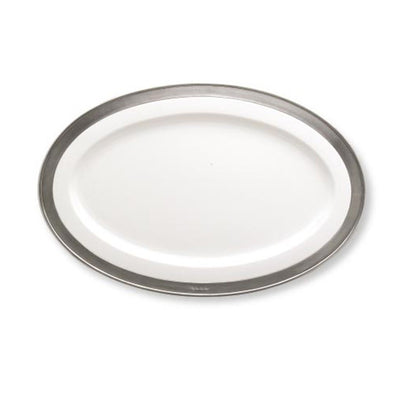 Match Pewter Convivio Small Oval Serving Platter