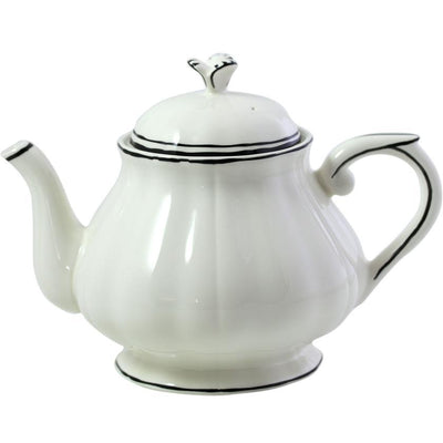 Gien Filet Midnight Tea Pot