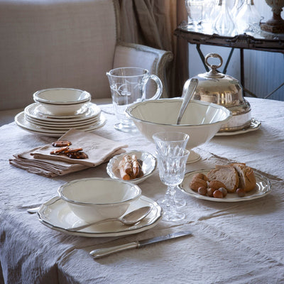 Gien Filet Taupe Dinnerware