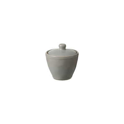 Casafina Fontana Dove Gray Sugar Bowl