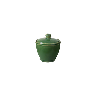 Casafina Fontana Forest Green Sugar Bowl