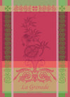 Garnier Thiebaut Grenade Rose Tea Towel