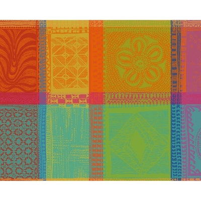 Garnier Thiebaut Mille Wax Creole Coated Placemat
