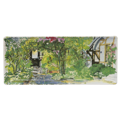 Gien Paris Giverny Oblong Tray