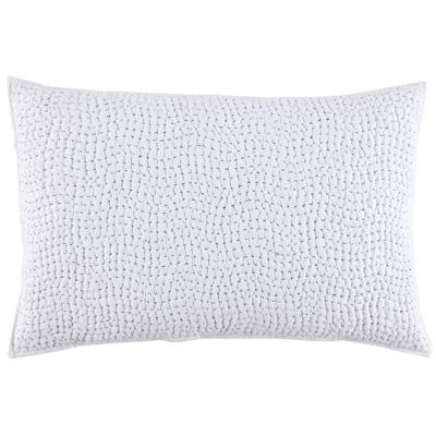 John Robshaw Hand Stitched Light Indigo Pillow Sham
