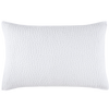 John Robshaw Hand Stitched White Pillow Sham