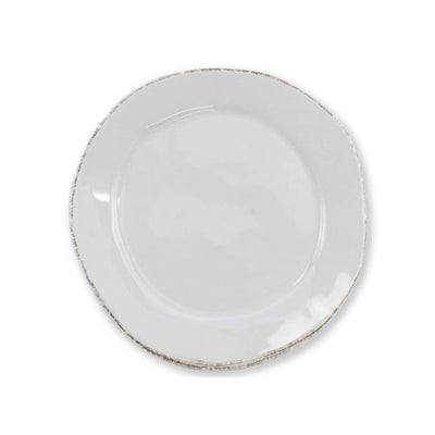 Vietri Lastra Light Gray Canape Plate