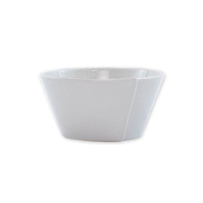 Vietri Lastra Light Gray Cereal Bowl