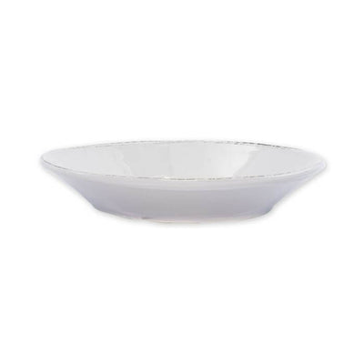 Vietri Lastra Light Gray Pasta Bowl