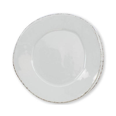 Vietri Lastra Light Gray Salad Plate