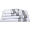 Le Jacquard Fancais Folk Caviar Bath Towels