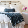 Bella Notte Linens Loulah Mineral Throw Blanket