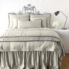 Bella Notte Linens Paloma Fog Personal Comforter