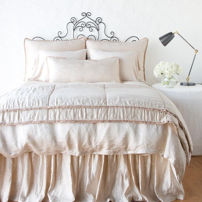 Bella Notte Linens Paloma Pearl Personal Comforter