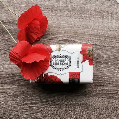 Panier des Sens Red Poppies Soap