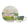 Gien Paris Giverny Breakfast Cup & Saucer