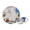 Gien Paris Paris Breakfast Cup & Saucer