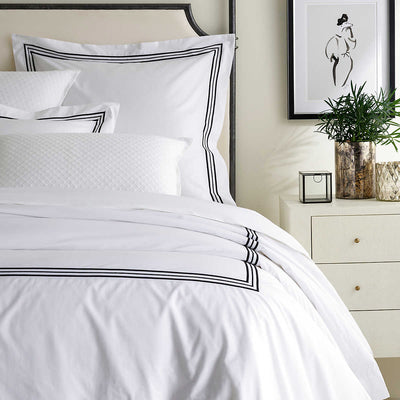 Pine Cone Hill Trio Black Duvet Cover & Shams