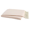 Lands Downunder Pink Salt Italian Herringbone Throw