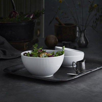Pillivuyt Plisse Serving Bowl