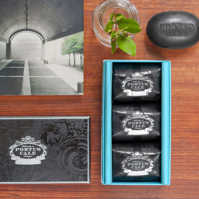 Portus Cale Black Edition Soap Set
