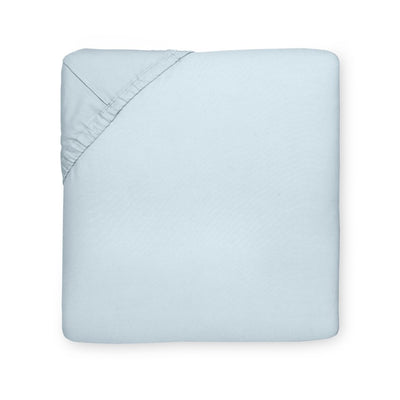 Sferra Celeste Blue Fitted Sheet