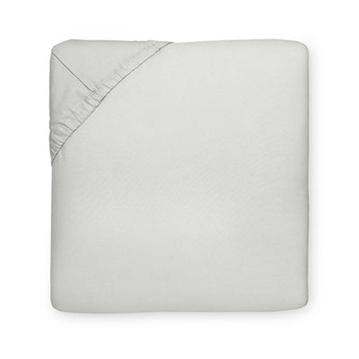 Sferra Celeste Fitted Sheet Grey