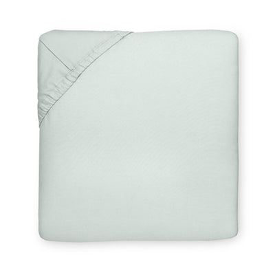 Sferra Celeste Silver Sage Fitted Sheet