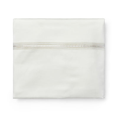 Sferra Diamante Ivory Duvet Cover