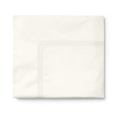 Sferra Diamante Ivory Flat Sheet