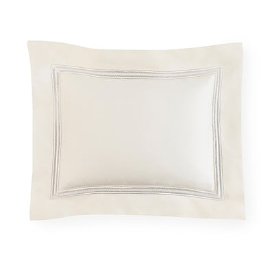 Sferra Ivory Diamante Pillow Sham