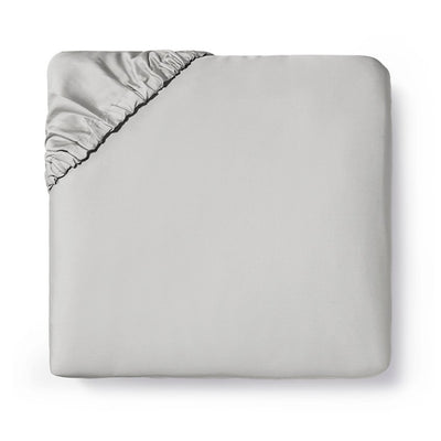 Sferra Fiona Grey Fitted Sheet