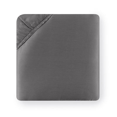 Sferra Giotto Titanium Fitted Sheet
