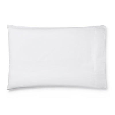 Sferra Tesoro White Pillowcase