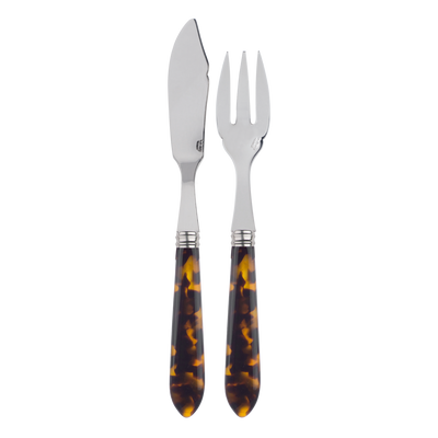 Sabre Paris Tortoise Fish Set Place Setting