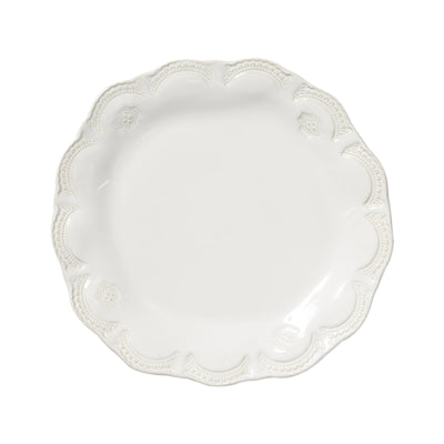 Vietri Incanto Stone Lace White Dinner Plate