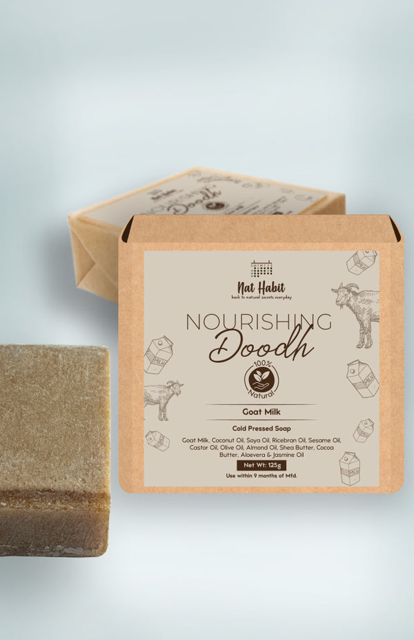 Cold Pressed Nourishing Doodh Soap 125g<br><strong>Available in all cities</strong>