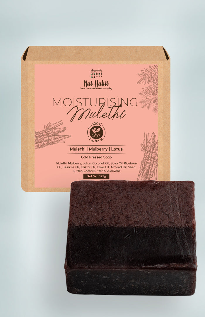 Cold Pressed Moisturising Mulethi Soap 125g<br><strong>Available in all cities</strong>