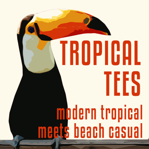 TropicalTees.Shop Features Tropical Beach Inspired T-Shirts