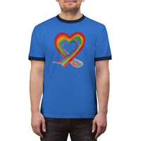 Rainbow Love Ringer Tee